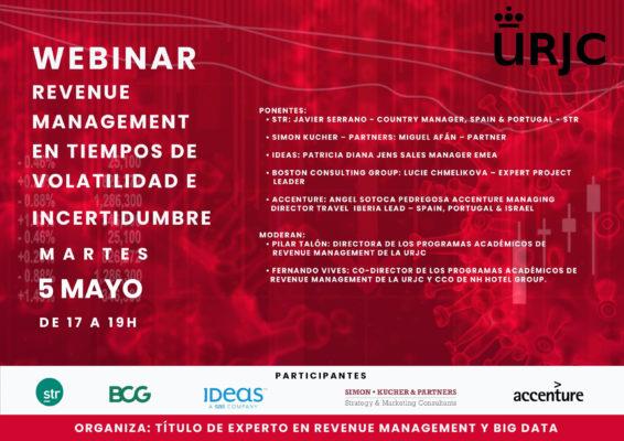 WEBINAR- Revenue Management URJC